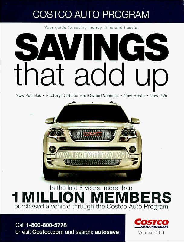 Costco Auto Program >> www.laurent-roy.com | Publicité auto