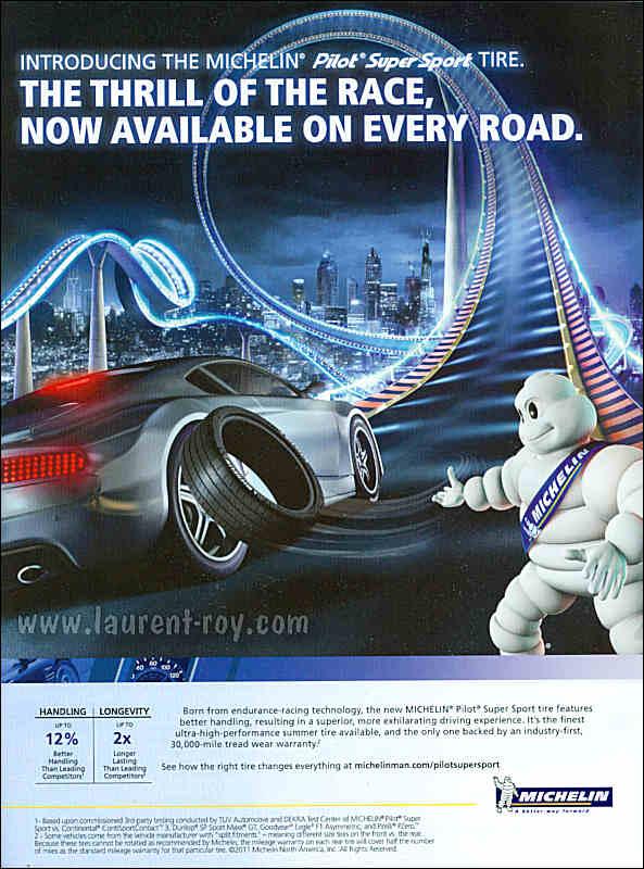 Michelin Pilot Sport >> www.laurent-roy.com | Publicité auto