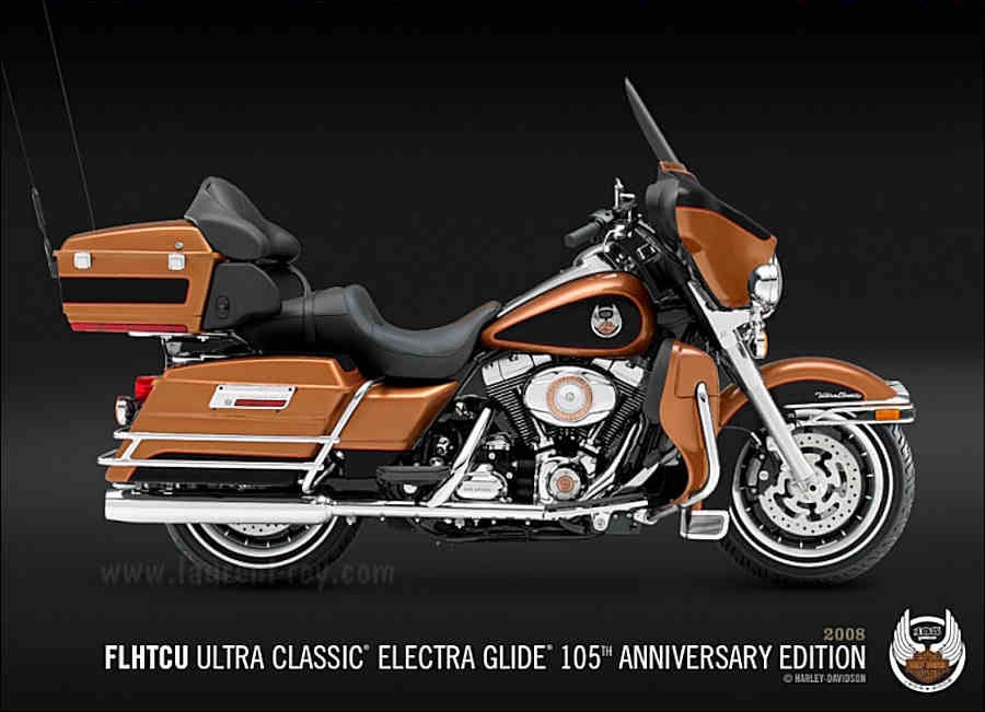 Harley Davidson Ultra Limited Anniversary Model