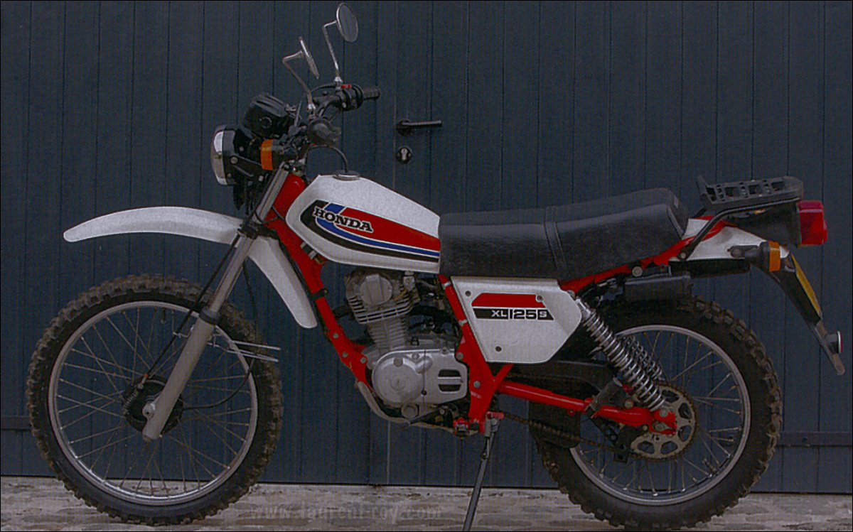 www.laurent-roy.com | Mes motos Honda 125XLS