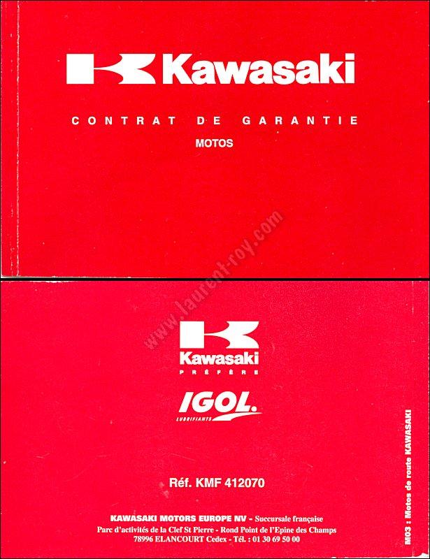 Kawasaki Voyager X Colors
